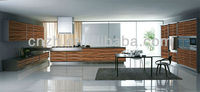 Supply Customized High Gloss Lacquer Kitchen Cabinets at a Competitive Price 3941