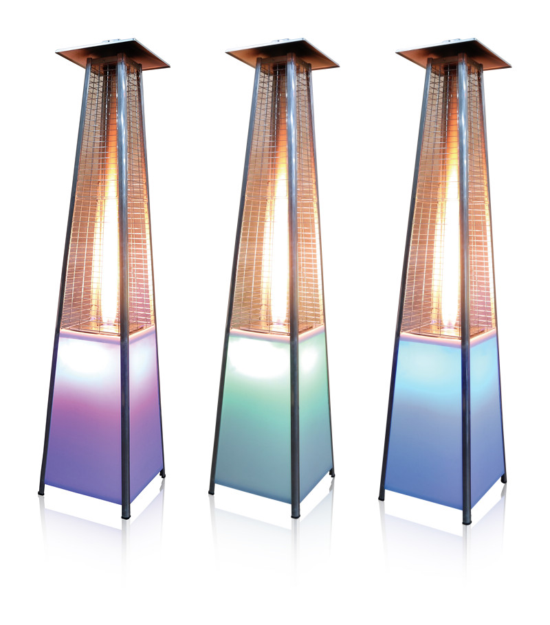 Outdoor and Garden CE Approval LED Light Flame Patio Heater, View LED Light Flame Patio Heater ...