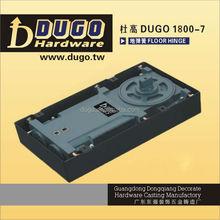 Double Cylinder Two Speed Adjustable Hydraulic Door Closer Mechanism Heavy Duty Floor Closer DUGO 1800-7