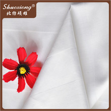 bed sheet fabric 50% cotton 50% polyester