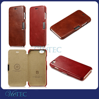 Factory directly selling fashion icarer new stylish leather case for iphone 6