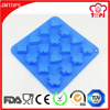 100%Silicone Poker Shaped Silicone Chocolate Mold/Palying Card Silicone Poker Ice Cube Tray/Silicone Chocolate Mold for Candy