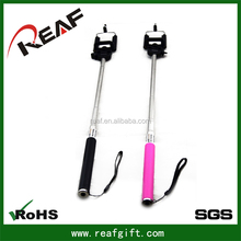 2015 New product handheld self-shooting cell phone camera tripod monopod travel for phone and camera