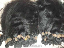 2015 Best-Seller !Wholesale Top Quality Chinese Human Virgin Natural Straight Hair Bulk Accept Paypal