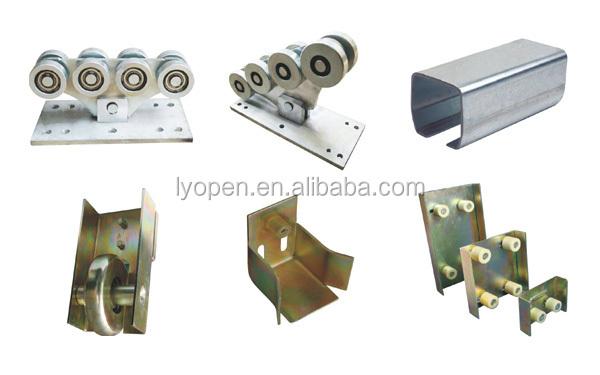 industrielle porte coulissante rail roue de zinc-autres accessoires