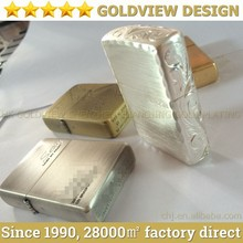 High quality square luxury lighter, metal cigarette gas lighter with Flint,metal pipe lighters