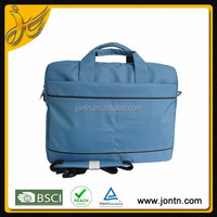 Cheap polyester handle&shoulder bag laptop