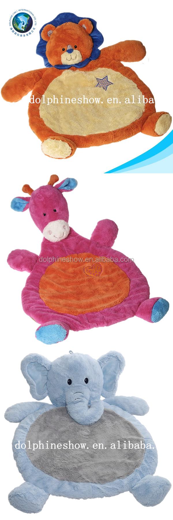 2015 Owl Pink Plush Toy Plush Stuffed Baby Play Mat