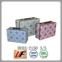 Lightweight Handicraft Article Storage Trunks Elegant Wooden Antique Box