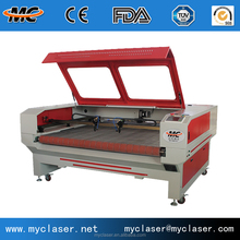 MC1610 fabric cnc laser cutting machine/China supplier leather shoes CO2 laser cutter