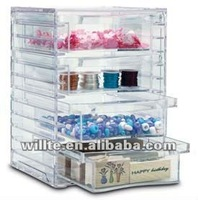 acrylic decorations container/ box/ holder