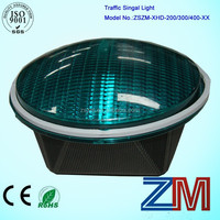 2015 new designed CE &RoHs provided convexity led traffic signal light len