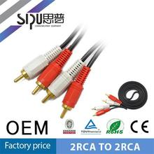 SIPU Factory price audio rca cable optical to rca cables 6.3mm to rca audio cable