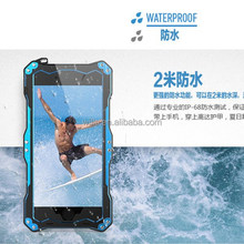 Newest Design R-JUST Gundam Aluminum Metal Case for phone 6 case for waterproof for dirtproof for snow proof for shcok proof