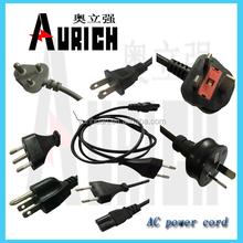HI-Q PVC Extension AC Power Cord Plug Wire Extension
