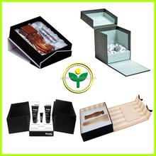 2015 New Fashion custom paper cosmetic box with insert