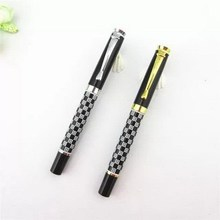 Alibaba china new coming twist action copper metal ballpoint pen