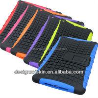 PC case for iapd mini, shockproof case for iPad mini with high quality silicone case for iPad mini