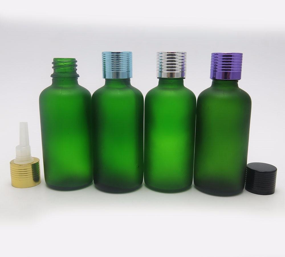 Top qualit 50 ml huile pour le corps bouteille en verre for Gel a depolir le verre