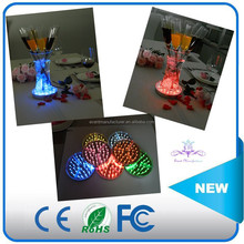 Smart Lighting For Glass Cup/Vase/sculpture Decoration 6 inch single color base lighting