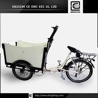 recumbent pet trike BRI-C01 three wheeler electric cargo trike
