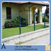 Long Life Strength and Beautiful V Fold Weave House Fence/ Garden Fence