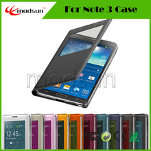 Colorful For Samsung galaxy NOTE 3 case,high quality leather Case for Samsung NOTE 3