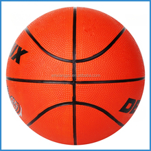 indoor/outdoor small rubber basketball for sale