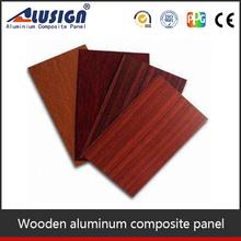 Polyurethane decorative interior wall panel wooden finish acp plates