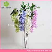 Wedding centerpiece real touch purple / red / blue orchid artificial