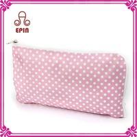 Custom ladies makeup train case elegant make up bag PVC cosmetic toiletry bag 2015