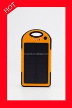 outdoor sport portable solar cell power bank travel