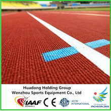 IAAF Approved Synthetic Prefabricated Rubber Running Track for track and field