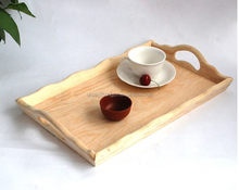 Modern exported wooden designer food serving trays