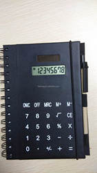 Hairong mini size digital calculator with notebook calculator desktop calculator