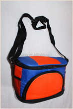 Non-woven,Non Woven Fabric,600D or Nylon Material and Insulated Type Recycled Aluminum Foil Cooler Bag