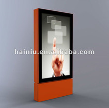 With LED backlit city light posters for shopping mall