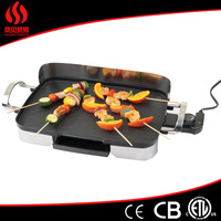 Hqality sliding grill design/plastic fan grill/best indoor electric grill