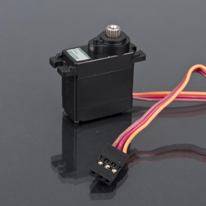 JR interface 360 Degree with Robot RC Servo SM-S4306R R/C gear servo motor