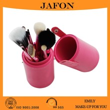 2015 Professional Designer Cosmetic Brush Kit With Synthetic/Natural Hair, Superior Quality Brushes with Stylish Cylinder Case