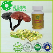 natural healthycare lingzhi extract spore oil softgel