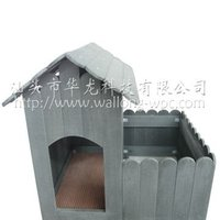 wooden pet house