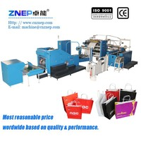 ZD-F450Q Chinese manufacturer shopping paper bag folding gluing machine
