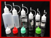 Assurance!!! Plastic squeeze dropper bottle 15ml PET needle tip pharmaceutical dropper bottle plastic squeeze dropper bottle