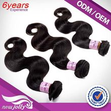 100% Leading Hair Factory cheap human hair 6 bundles,2015 Natural Bouble Draw cheap hair weaving brazilian human hair