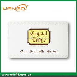 low cost pvc plastic13.56mhz F08 active RFID card for access control
