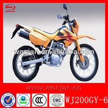 200cc enduro kids dirt bikes for sale /super dirt motorcycle (WJ200GY-6)