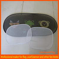 Promotional Novelty Red Front Car Sunshade