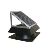 40W attic solar powered electrical fan