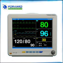 "2015 new style 12.1"" Multi Parameter patient monitor with ISO 9001 and 13485 with warranty and after-sales service of China"